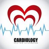 Cardiology icon Royalty Free Stock Photo