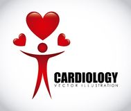 Cardiology icon Royalty Free Stock Photo