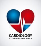 Cardiology icon Royalty Free Stock Photography