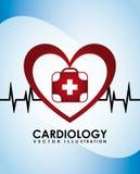 Cardiology icon Stock Photos