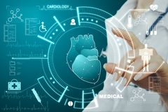 Cardiology and science concept