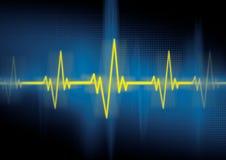 cardiologyhjärtslag vektor illustrationer