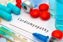 Cardiomiopatia imagens de stock