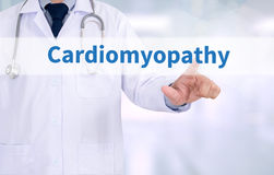 Cardiomyopathy stockfotos