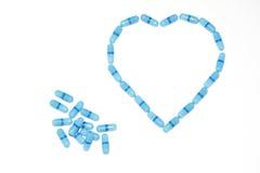 Cardiopathy medication Stock Photography