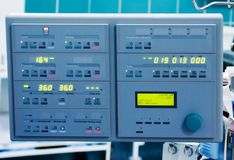 Cardiopulmonary bypass monitor Royalty Free Stock Photo