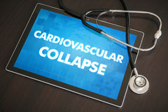 Cardiovascular collapse (endocrine disease) diagnosis medical co Stock Photos