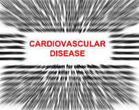 Cardiovascular disease Royalty Free Stock Photos