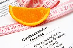 Cardiovascular disease Royalty Free Stock Image