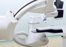 Cardiovascular X-Ray system Stock Photo