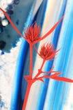 Cardo en la ágata Imagen de archivo libre de regalías
