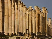 Cardo, Jerash Royalty Free Stock Images