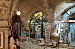 The Cardo Street, Jerusalem Royalty Free Stock Photos