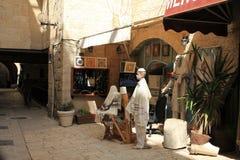 Cardo Street in Jerusalem Stock Image
