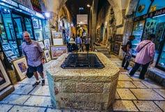 Cardo Street in Jerusalem Royalty Free Stock Images