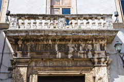 Cardoli palace. Narni. Umbria. Italy. Royalty Free Stock Photography