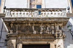 Cardoli palace. Narni. Umbria. Italy. Royalty Free Stock Photography