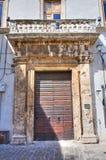Cardoli palace. Narni. Umbria. Italy. Stock Images