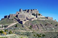 Cardona κάστρο μεσαιωνικό στην Καταλωνία. Στοκ φωτογραφία με δικαίωμα ελεύθερης χρήσης