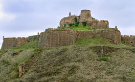 Cardona castle in Catalonia. Royalty Free Stock Images