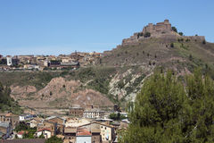 Cardona Castle - Catalonia - Spain Royalty Free Stock Image