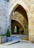 Cardona castle medieval in Catalonia. Stock Photography