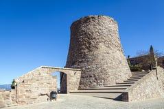 Cardona castle medieval in Catalonia. Royalty Free Stock Photos