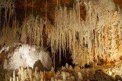 Cardona Salt mine cave grotto Royalty Free Stock Image