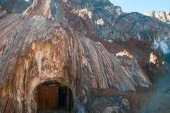 Cardona Salt mine cave grotto Royalty Free Stock Photography