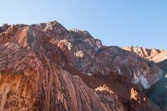 Cardona Salt mine mountain grotto Royalty Free Stock Image