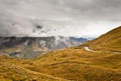 cardrona krajobrazowy nowy Zealand Obrazy Stock