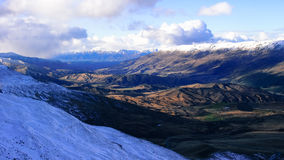 Cardrona, Neuseeland Stockbild