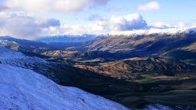 Cardrona, nowy Zealand obraz stock