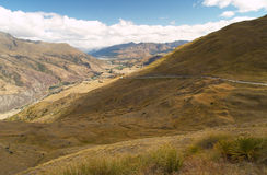 Cardrona valley Royalty Free Stock Photos