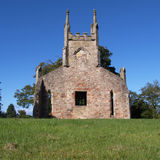 Cardross old parish church Royalty Free Stock Images