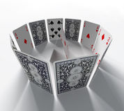 The cards Stock Photography