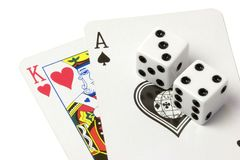 Cards royalty free stock image