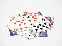 Cards [7]. Playing cards Royalty Free Stock Photo