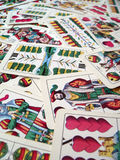 Cards. Hungarian cards royalty free stock photo