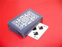 Cards [9]. Playing cards Stock Photo