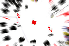 Cards abstract Royalty Free Stock Photo