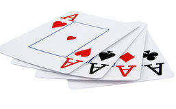 Cards and ace Stock Photo