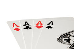 Cards-Aces Stock Photos