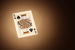 Cards background. King Royalty Free Stock Image