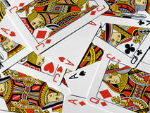 Cards background Royalty Free Stock Images
