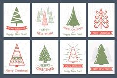 cards christmas drawing modeling plasticine διανυσματική απεικόνιση