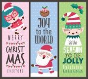 cards christmas drawing modeling plasticine Στοκ Φωτογραφίες