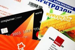 Cards, Close-up, Credit Stock Photo