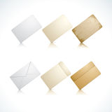 Cards and envelope Royalty Free Stock Image
