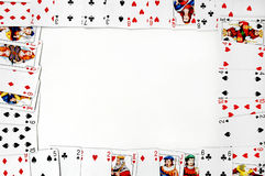 Cards frame Royalty Free Stock Image